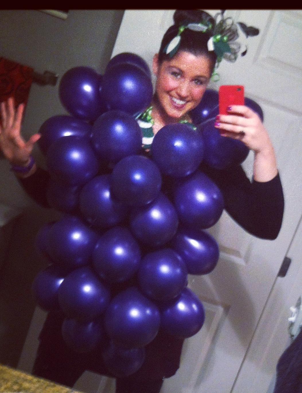 Purple ...  sc 1 st  Nichole R. Smith - WordPress.com & What a Grape Costume | Nichole R. Smith