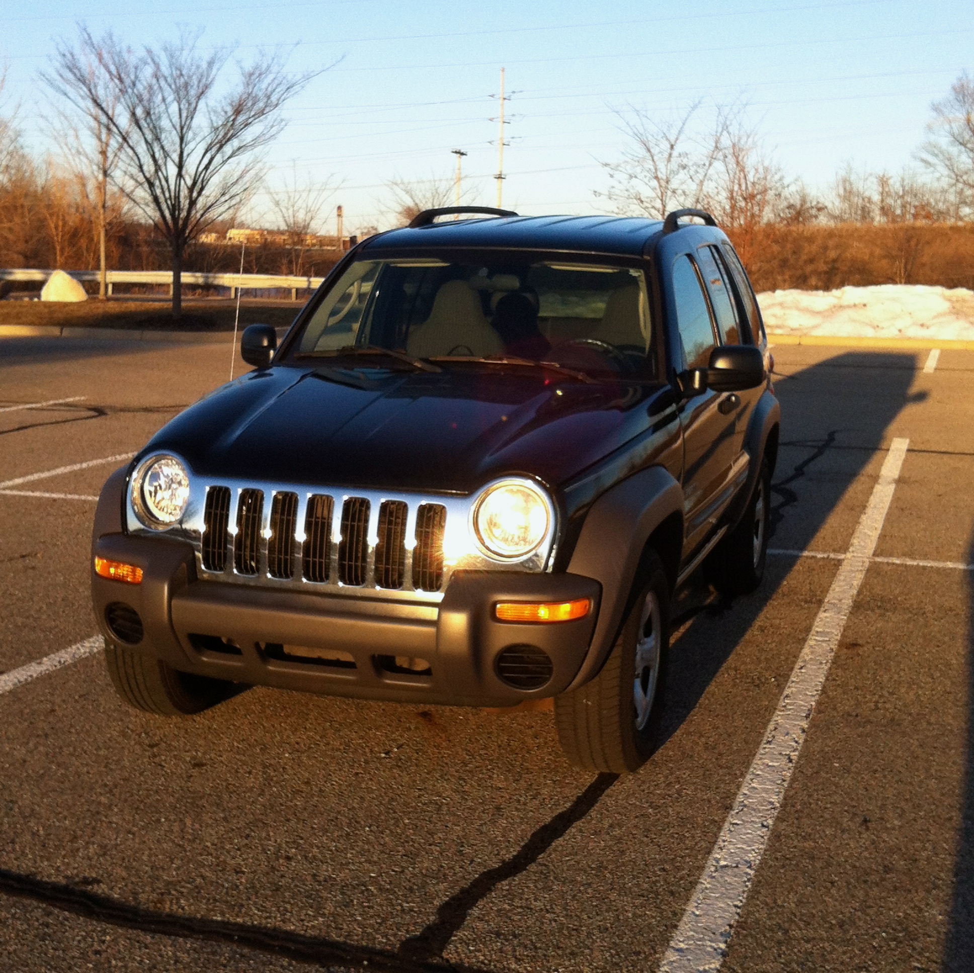 2004 Jeep Liberty Interior: 2004 Jeep Liberty For Sale – $5,800