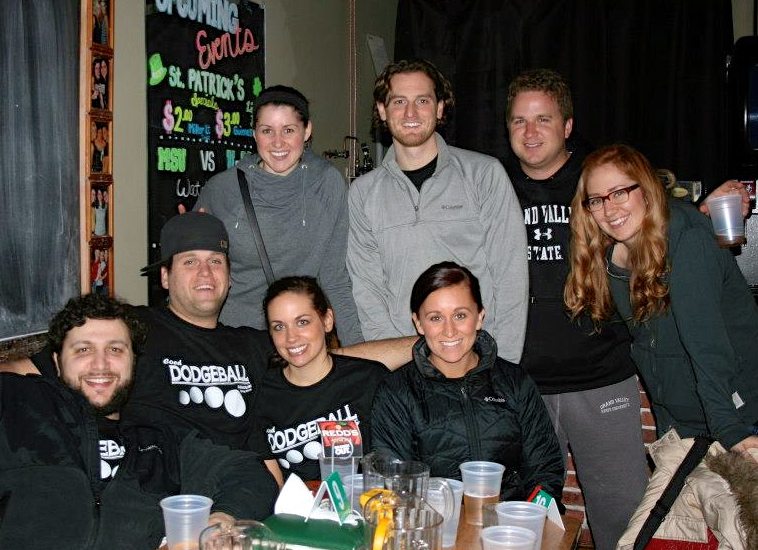 Team 'Off In The Corner' - Front: Petrit, Marcus, Sarah, & Britany. Back: Me, Jeff, Charlie, & Allison.